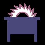 Haartsen Letselschade icoon: Letselschade door bedrijfsongeval ©